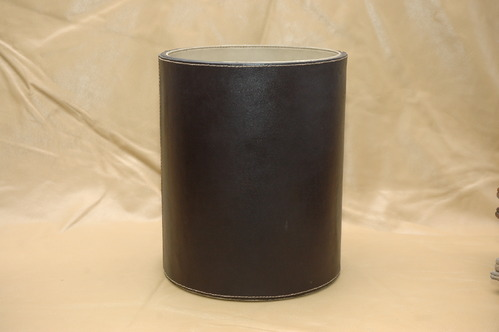 Leather Dustbin