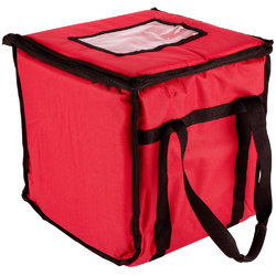 d93303e0f Nylon Red Four Layer Insulated Delivery Bags