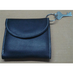 Manufacturer of Leather Made Coin Wallet With Sgs Lab Tests