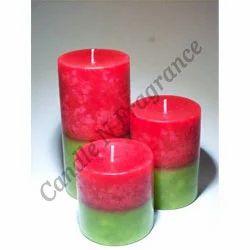 Multicolor CNF Designer Pillar Candle