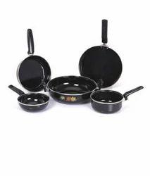 Milton Black Aluminum Cookware