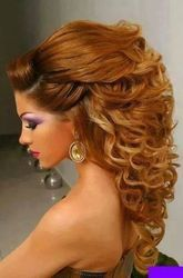Male, Female Hair Coloring