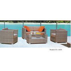 Outdoor Aluminum Sofa