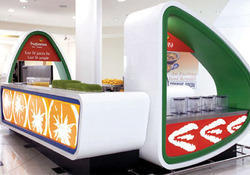 Kiosk Interior Designing