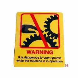 Warning Signages