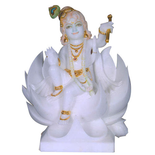 White Marble Krishna Statue At Rs 20000 Piece S Marble Krishna