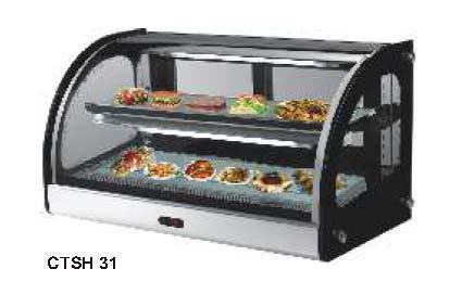 Counter Top Hot Display Showcase Sree Sai Samrat