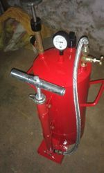 Pressure Tank Use For AT Welding