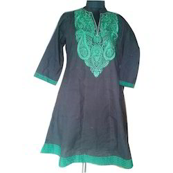 Collar Neck Embroidered Kurti