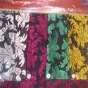 Poly Viscose Burnout Dyed Fabrics