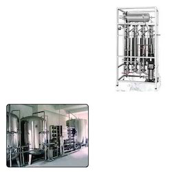 Multi Column Distillation Plant for Water Distillation