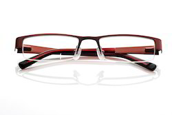 Stainless Steel Optical Frame, Size: 53-17-142 mm