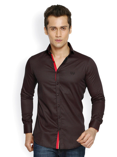 e3b910b86b4 Buy DASTAK Black Party Wear Shirt for Men Online India