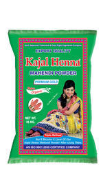 Natural Kajal Henna Premium Gold (Cone Powder), Pack Size: 25kg Tripple Refined