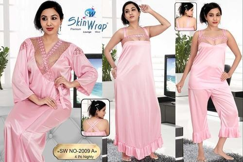 Ladies Night Dress - Trendy Six Piece Nighties Manufacturer from Ahmedabad bf60a0ef4