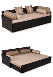 Bon Solid Wood Arra Aster Sofa Bed Lines   Jute