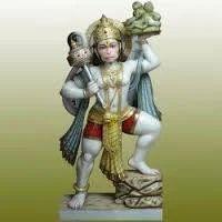 Marble Panchmukhi Hanuman Murti