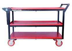 Heavy Duty Tray Trolley with 3 Tray