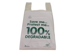NPP Biodegradable Carrier Bag, For Shopping, Grocery etc., Bag Size: 7  X 12