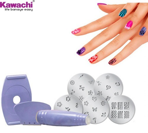 Nail Art Kit With Stamping: Nail Art Stamping Kit At Rs 147 /piece