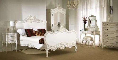 Masa Gaia White La Chamber Bedroom Set, White French Bedroom Furniture Sets Uk