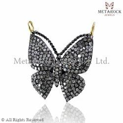 Butterfly Design Diamond Pendant
