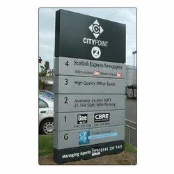 ACP Pylon Signage