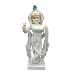 Carved Krishna Statue