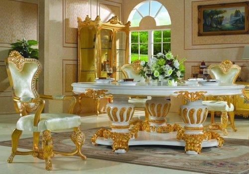 Wooden Furniture Royal Dining Table Manufacturer from Mumbai
