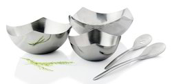 Stainless Steel Salad Bowl Set