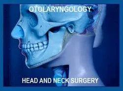 Otorhinolaryngology ENT Surgery