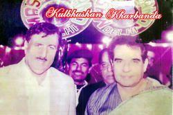 Mr. Kulbhusan Kharbanda with Master Band