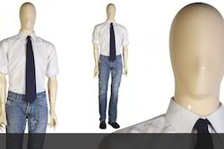 Fiberglass Standing Off White Male Mannequin, Size: 6 Feet, For Garment Shop