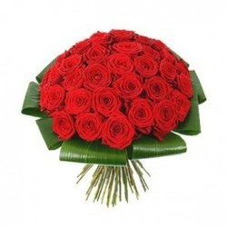 Thirty Red Roses Bunch