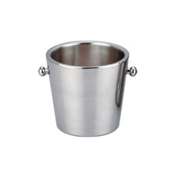 Stainless Steel Ice Bucket (Double Wall)
