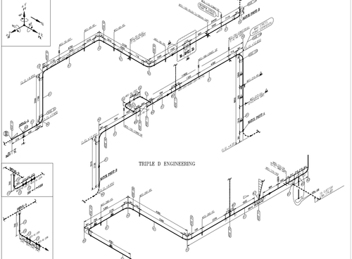 piping isometric drawing in saidapet  chennai