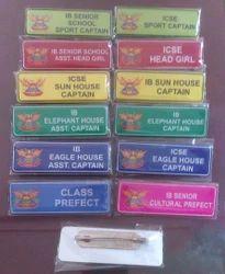 Aluminum Pocket Badges