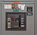 Electrical Control Panel Label and Sticker