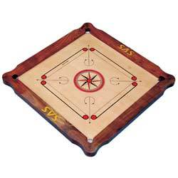 natural border carrom boards