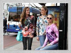 Ladies Printed Woolen Top