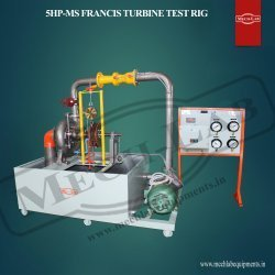 5HP-MS Francis Turbine Test Rig