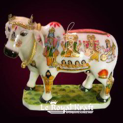Marble Cow Statues White Marble Cow Statues Exporter