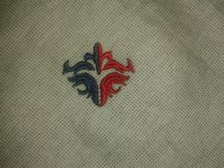Shirt Embroidered Label