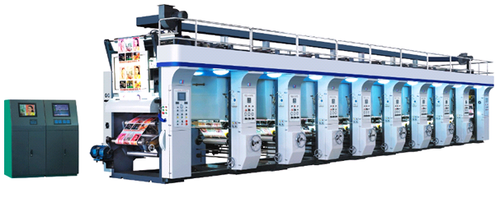 Semi-Automatic Rotogravure Printing Machine, Lamination And Reel To Reel Delivery