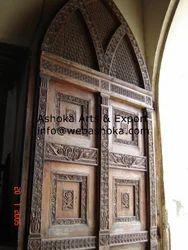 Antique Wooden Carving Door