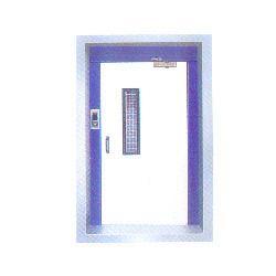 MS Swing Door with Door Closer
