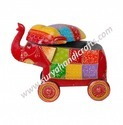 Elephant On Wheel