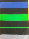 Lycra Yarn Dyed Auto Stripe Jersey Fabric