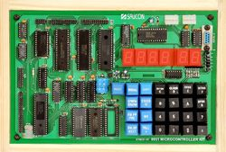 8051 Microcontroller Trainer(LED VER)-ST805101