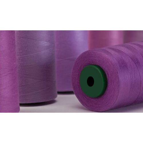 Purple 120s TWO 1,000m cones Spun Polyester Sewing Threads Brand new
